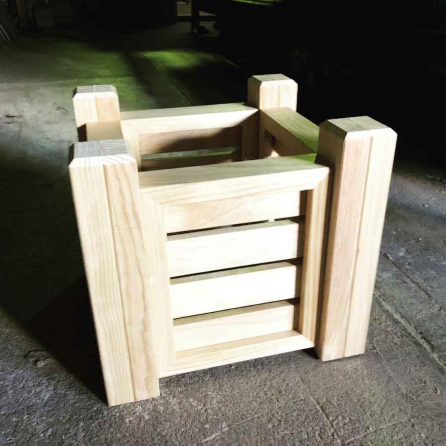 Australian Made Timber Planter Pots