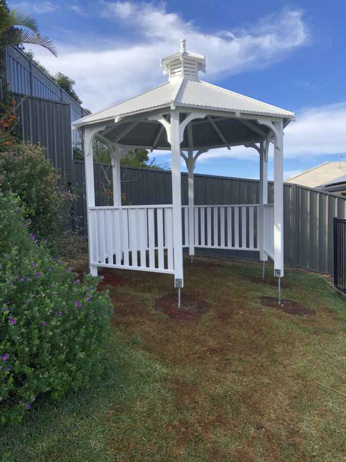 Hexagonal Gazebo -Port Macquarie – NSW – 2444