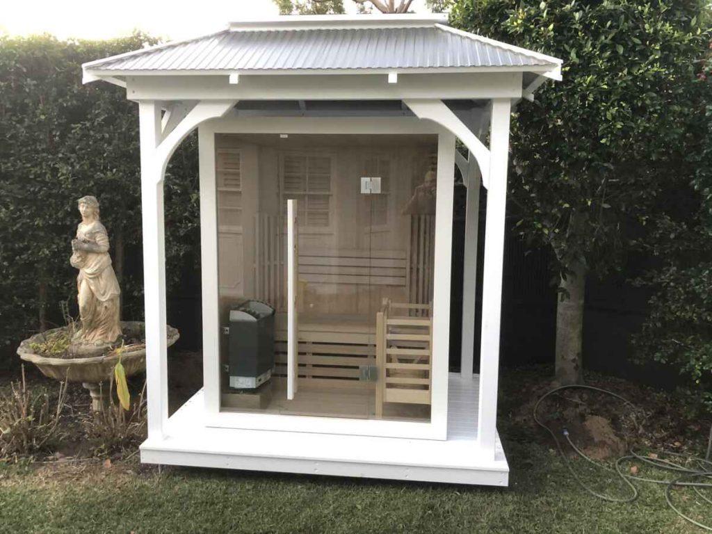 Lifestyle Gazebo for Sauna – St Ives -NSW – 2075