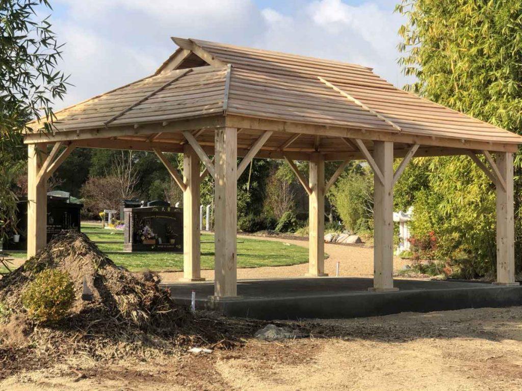 Asian Gazebo – Enfield Memorial Park – SA – 5085