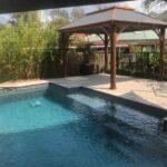 Australian gazebo by the pool