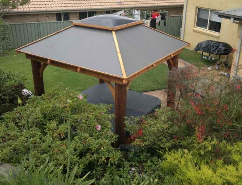 Australian Gazebo roof skylight by Gazebos Galore